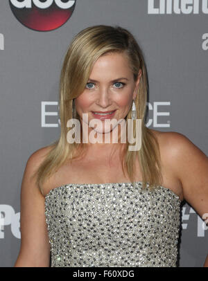ABC's TGIT premiere event - Arrivals  Featuring: Jessica Capshaw Where: Los Angeles, California, United States When: - Stock Photo