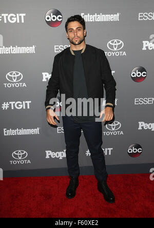 ABC's TGIT premiere event - Arrivals  Featuring: Jack Falahee Where: Los Angeles, California, United States When: - Stock Photo