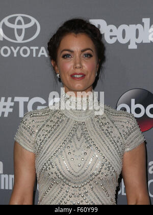 ABC's TGIT premiere event - Arrivals  Featuring: Bellamy Young Where: West Hollywood, California, United States - Stock Photo