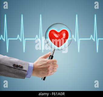 Heart health checkup - Stock Photo