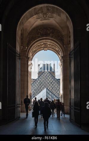 France, Paris, Le Louvre - Stock Photo