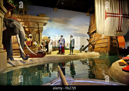 'World of Discoveries' an interactive museum - thematic park in Porto, Porte e Norte, Portugal. - Stock Photo