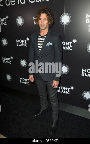 New York, NY, USA. 10th Nov, 2015. New York, NY - November 10, 2015: Todd DiCiurcio attends 24th anniversary year of the Montblanc De La Culture Arts Patronage Awards at Kappo Masa at arrivals for 24th Anniversary of the Montblanc de la Culture Arts Patronage Awards, Kappo Masa, New York, NY November 10, 2015. Credit:  Lev Radin/Everett Collection/Alamy Live News Stock Photo
