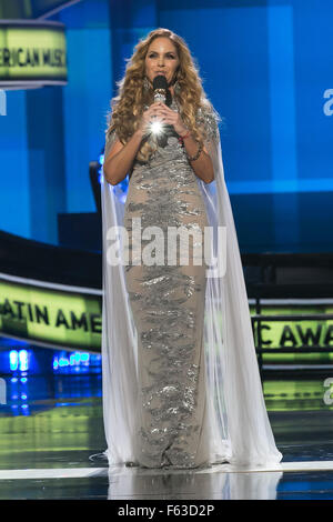 Celebrities perform onstage at the Latin American Music Awards at the Dolby Theatre  Featuring: Lucero Where: Los - Stock Photo
