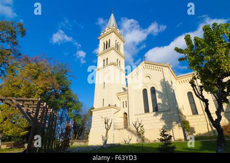 St. Joseph's Roman Catholic Cathedral in Sighisoara,Transylvania, Romania - Stock Photo
