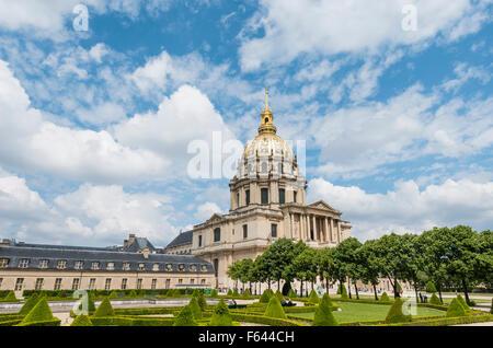 Les Invalides, Paris, Ile-de-France, France - Stock Photo