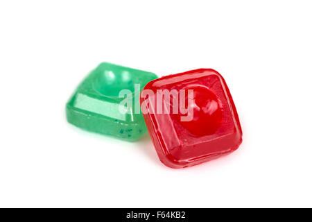 Cough Drops Mentho Lyptus Menthol Tablets Lozenges - Stock Photo