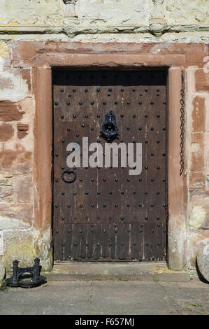 Doorway in Castle Leod, near Strathpeffer, Ross-shire, Scotland.