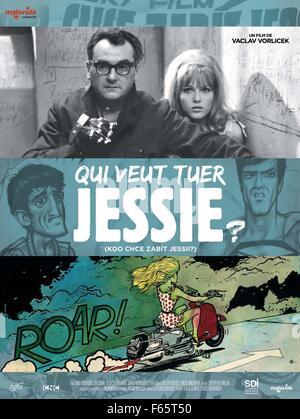 Kdo chce zabit Jessii? Who Killed Jessie? Year : 1966 Czechoslovakia Director : Vaclav Vorlicek Jiri Sovak, Olga - Stock Photo