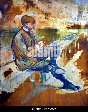 Louis Bouglé 1898 Henri de Toulouse Lautrec 1864-1901 France French - Stock Photo
