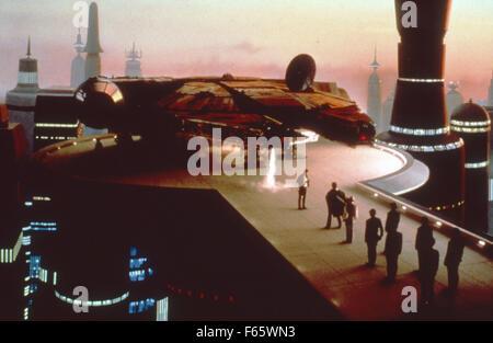 Star Wars: Episode V - The Empire Strikes Back  Year : 1980 USA Director : Irvin Kershner - Stock Photo