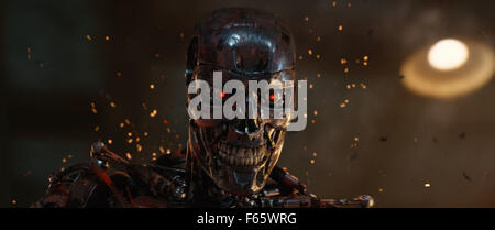 Terminator Genisys Year : 2015 USA Director : Alan Taylor - Stock Photo