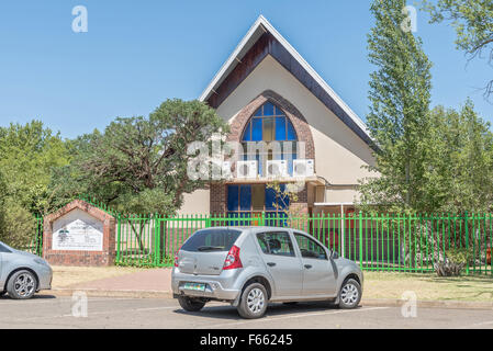 BLOEMFONTEIN, SOUTH AFRICA, NOVEMBER 12, 2015: The Seventh Day Adventist Church in Universitas, a suburb of Bloemfontein, - Stock Photo
