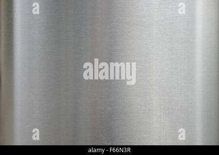 brushed steel or metal - Stock Photo