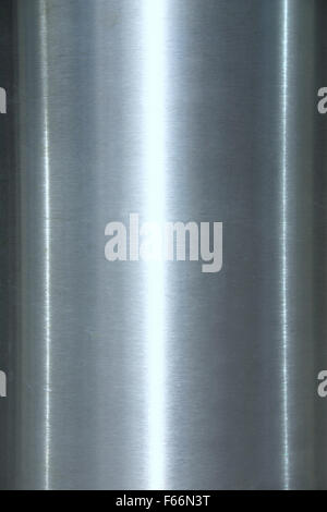 Shiny reflective steel - Stock Photo