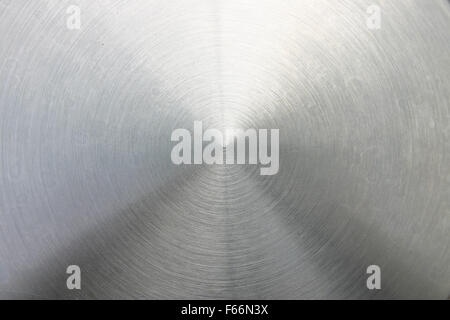 Brushed steel centralized point - Stock Photo