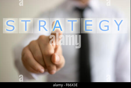 business and strategy concept - Stock Photo