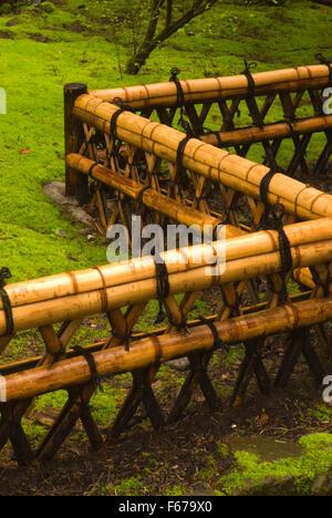 ... Japanese Garden Fence, Washington Park, Portland, Oregon   Stock Photo Part 98