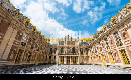 Palace of Versailles, UNESCO World Heritage Site, Yvelines, Region Ile-de-France, France - Stock Photo