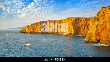 Sardinia Island - Cala Domestica Bay, Buggerru, Italy - Stock Photo