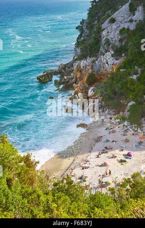 Gennargentu and Orosei Gulf National Park, Sardinia, Italy - Stock Photo