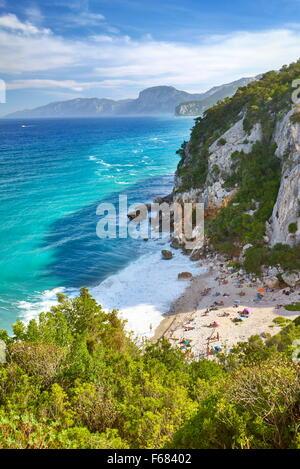 Cala Fuili, Gennargentu and Orosei Gulf National Park, Sardinia, Italy - Stock Photo