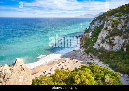 Gennargentu and Orosei Gulf National Park, Sardinia Island, Italy - Stock Photo