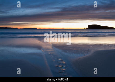 Oldshoremore Beach, Sutherland - Stock Photo