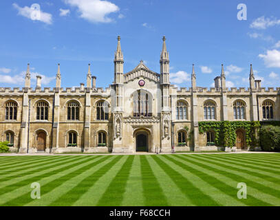 New Court of Corpus Christi College, Cambridge University, UK - Stock Photo