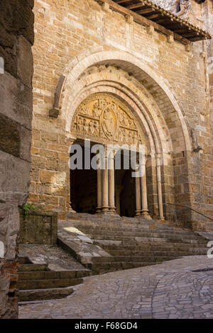 Carennac, Dordogne, Eglise Saint-Pierre - Stock Photo