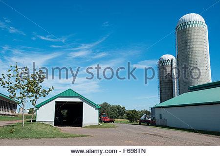 Farm, Ile d'Orleans, Quebec, Canada