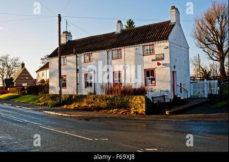 The Post Office, Crathorne - Stock Photo
