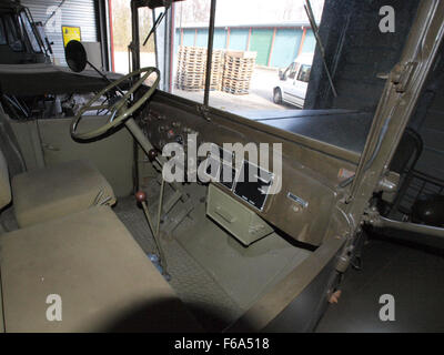Army truck KN-29-04 served in Indie pic5 - Stock Photo