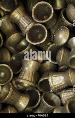 .22 / 5.5mm airgun pellets - Stock Photo