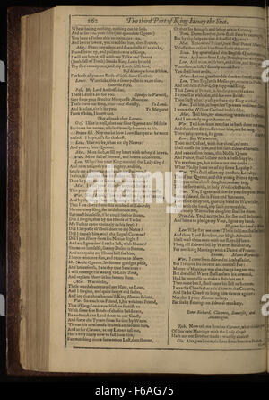First Folio The Third Part of King Henry VI, p - Stock Photo