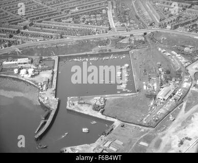 North Dock, Sunderland - Stock Photo