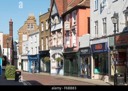 Period buildings, Preston Street, Faversham, Kent, England, United Kingdom - Stock Photo