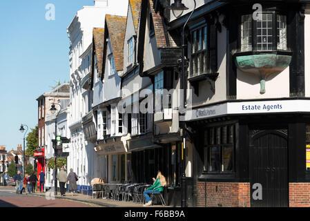 Court Street, Faversham, Kent, England, United Kingdom - Stock Photo
