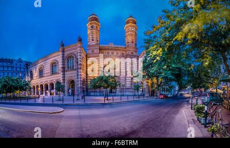 Great Synagogue, Budapest, Hungary - Stock Photo