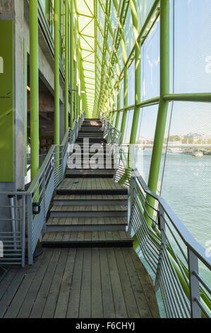 Les docks city of fashion and design paris france stock for Maison de la mode et du design paris