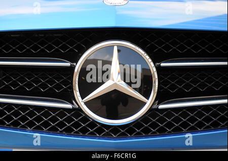 Mercedes A 220 CDI Blue Efficiency AMG Sport - Stock Photo