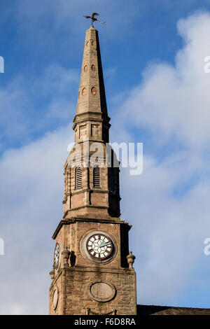 """St Andrew's Parish Church know as the """"Trades Kirk"""" with an interesting history dating from 1774 in Dundee, UK - Stock Photo"""