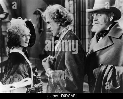 RELEASED: Jun 15, 1935 - Original Film Title: The Black Room. PICTURED: MARIAN MARSH, BORIS KARLOFF. - Stock Photo