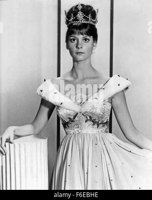 Jan. 1, 1960 - Lesley Ann Warren on-set of the TV Movie, Cinderella, 1965 (Credit Image: c Glasshouse/Entertainment - Stock Photo
