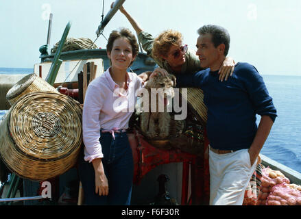 SUSAN SARANDON & JOHN CASSAVETES TEMPEST (1982 Stock Photo ...