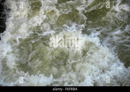 Moving floodwater - Stock Photo