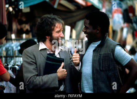 Sep 10, 1984; Hollywood, CA, UK; ROBIN WILLIAMS stars as Vladimir Ivanoff in the comedy drama 'Moscow on the hudson' - Stock Photo