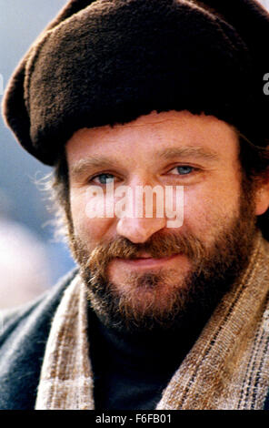 Sep 13, 1984; Hollywood, CA, UK; ROBIN WILLIAMS stars as Vladimir Ivanoff in the comedy drama 'Moscow on the hudson' - Stock Photo