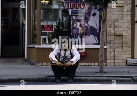 Apr 16, 1993; Spokane, WA, USA; JOHNNY DEPP as Sam in the comic, romance, drama 'Benny and Joon' directed by Jeremiah - Stock Photo