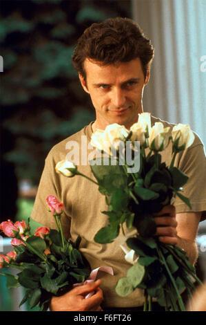 Apr 16, 1993; Spokane, WA, USA; AIDAN QUINN as Benjamin 'Benny' Pearl in the comic, romance, drama 'Benny and Joon' - Stock Photo